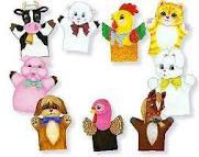 Contoh boneka tangan dengan karakter binatang (sumber puppetville.com)